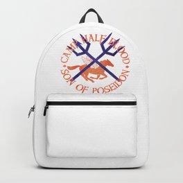son of poseidon - cabin shirt Backpack