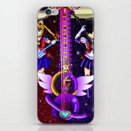 Fusion Sailor Moon Guitar #6 - Sailor Moon & Sailor Saturn iPhone Skin
