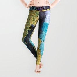 Softly peeling paint Leggings