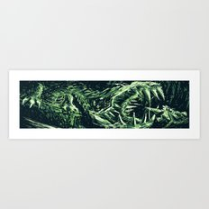 Metroid Metal: M2Q- End of the Line Art Print