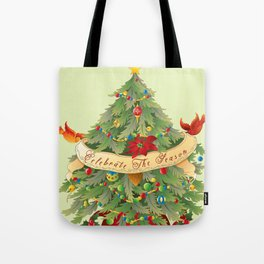 Celebrate The Season Tote Bag