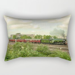 Flying Scotsman at Bristol Temple Meads Rectangular Pillow