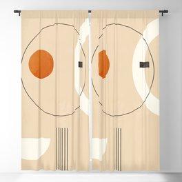 Minimal Geometric Shapes 35 Blackout Curtain