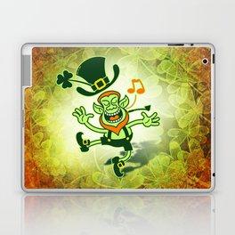 Irish Leprechaun Dancing and Singing Laptop & iPad Skin