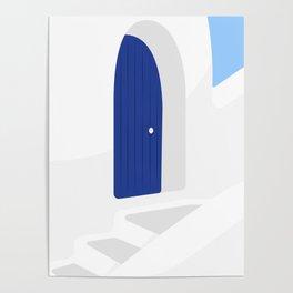 Santorini #01 Poster