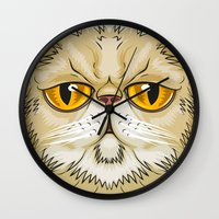 pooh Wall Clocks featuring Pooh Face by JoseMox Creador Gráfico