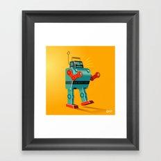 Mr Mercury Framed Art Print