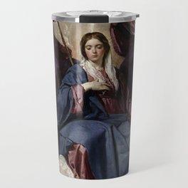 Diego Velázquez - Coronation of the Virgin Travel Mug