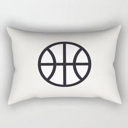 Basketball - Balls Serie Rectangular Pillow