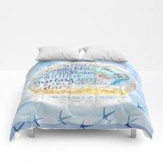 Like a Snow Globe Comforters
