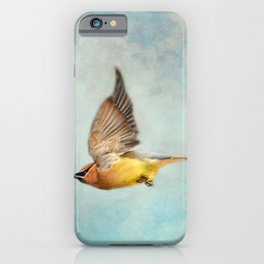 Winter Flight iPhone Case
