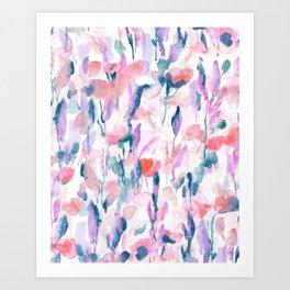 Resolve Coral Art Print
