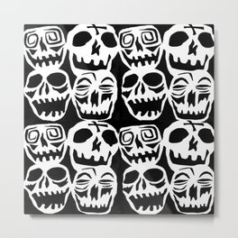 Desperately Seeking Skulls Metal Print