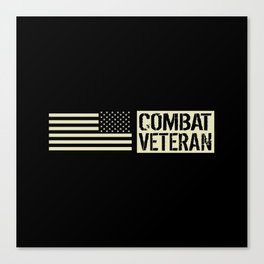 Combat Veteran Canvas Print