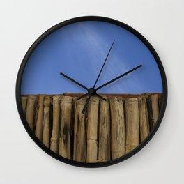 Cielo azul Wall Clock