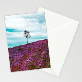 Pink Mountain Stationery Cards
