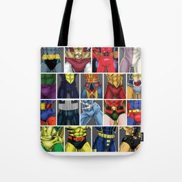 ABC's of Superheroes Tote Bag