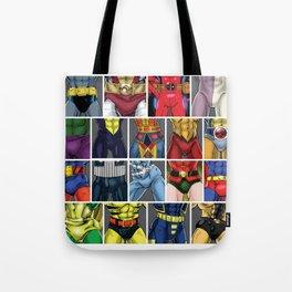 ABC's of Superheroes Tote Bag