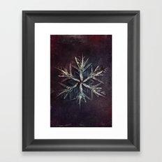 Snowblade Framed Art Print
