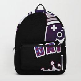 Gaming King with Gamepad Joypad Gamer Backpack