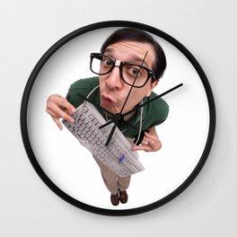 Computer Nerd Wall Clock