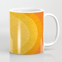 pulp Mugs featuring Pulp Saffron by Anchobee