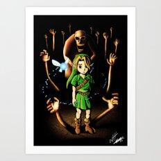The Dead Hand Resist Him. Art Print