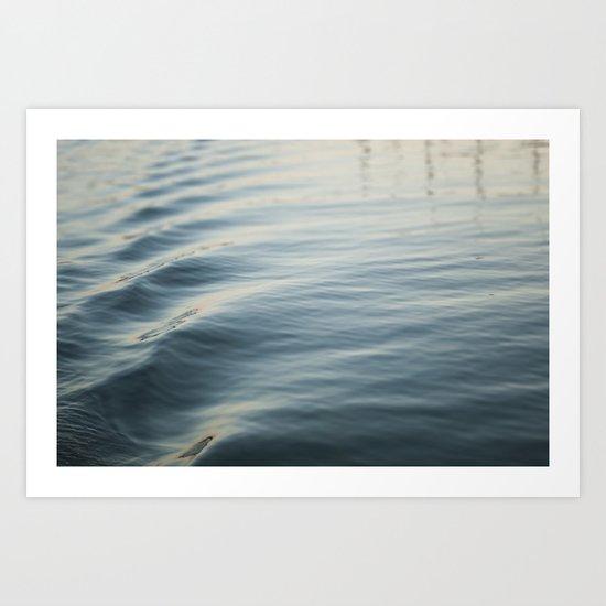 Water Ripple Art Print