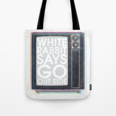 Go Out Side Tote Bag