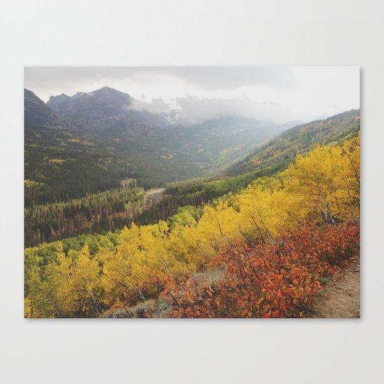 Rocky Mountain Colors Canvas Print