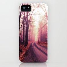 Travel Beyond The Fog iPhone SE Slim Case