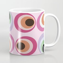 Midcentury abstract art: 1969 Coffee Mug