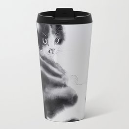 Fulopke our cat is resting Travel Mug