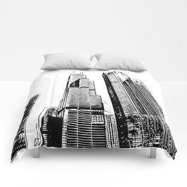 Chicago's Willis Tower Comforters