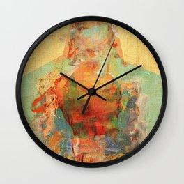 La Mujer y los Elementos Wall Clock