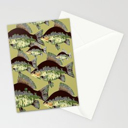 Sun Fish Stationery Cards