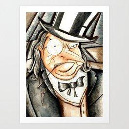 Caballero Del Crimen Art Print