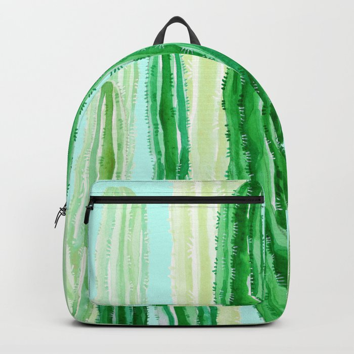 cactus in the nature Backpack