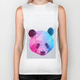 Polygon Panda Bear Biker Tank