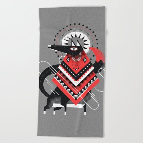 Wolf XXL Beach Towel