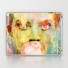 bubble gum  girl Laptop & iPad Skin