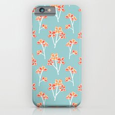 anemone flowers :: sea mist iPhone 6s Slim Case