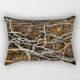 Abstract mineral texture Rectangular Pillow