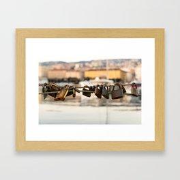 Unlock The Coast Framed Art Print