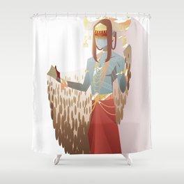 MU: Jotnar Prince Shower Curtain