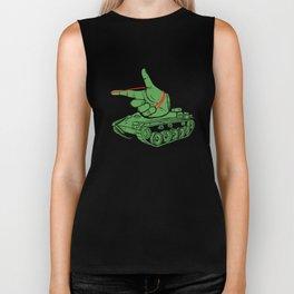 Rubber Artillery Biker Tank