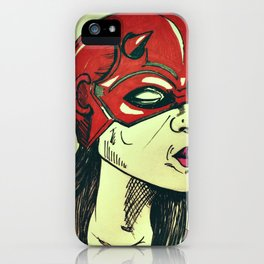 She Dares iPhone Case