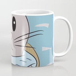 Baby Seal playing peek-a-boo Coffee Mug