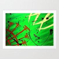sacred geometry Art Prints featuring Sacred Geometry by Luke JD