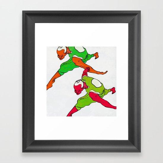 LOW SKY Framed Art Print